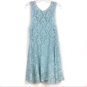 Free People Dresses - Free People | Miles of Lace Fit and Flare Dress